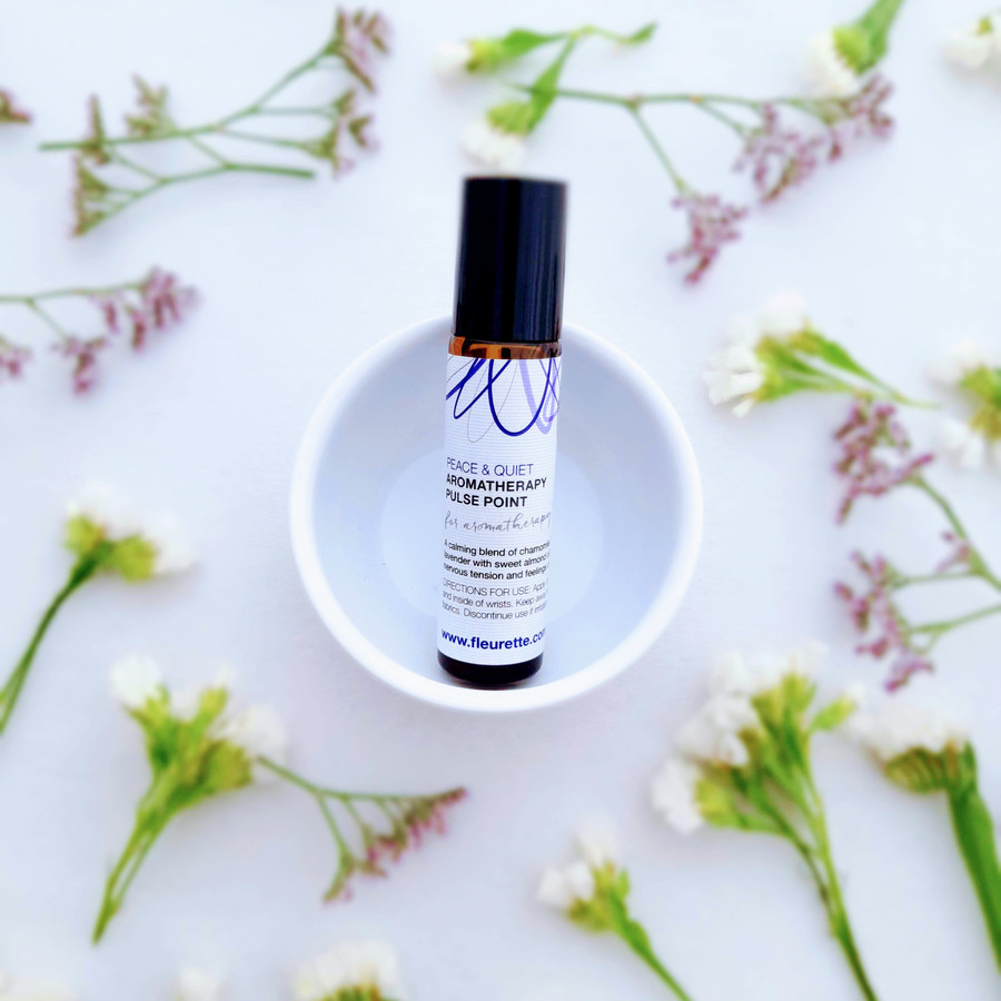 Peace & Quiet Aromatherapy Pulse Point
