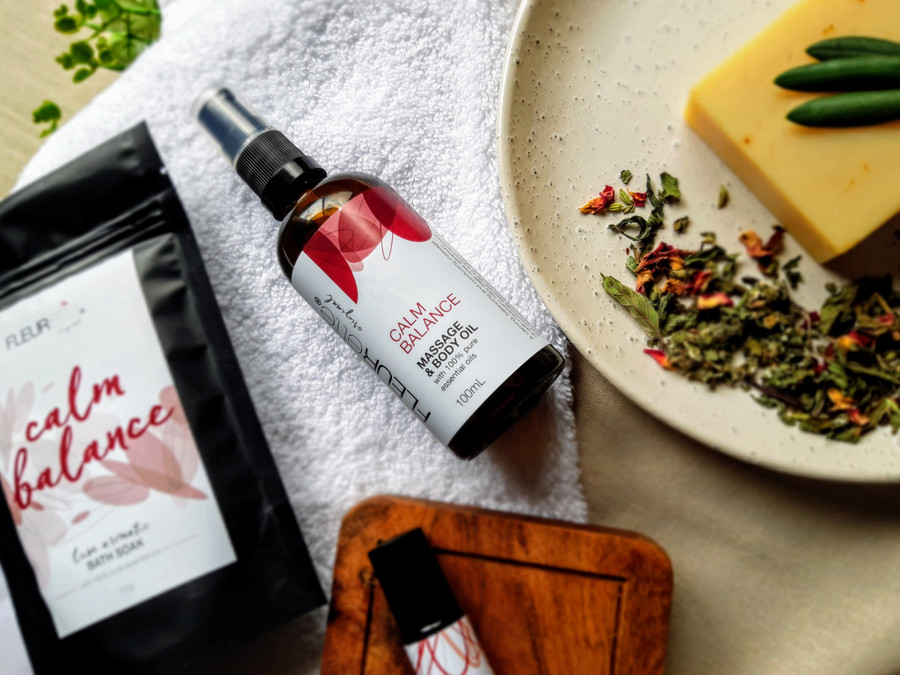 Calm Balance Massage and Body Oil