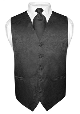 vest and tie set