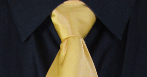 How to Tie a Half-Windsor Knot   Completed Knot