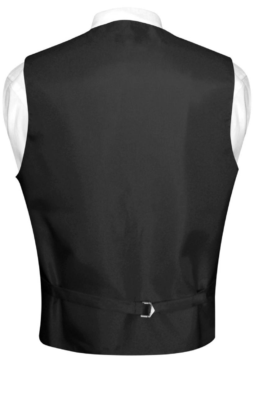 New Vesuvio Napoli polyester Men/'s necktie /& hankie set paisley party purple