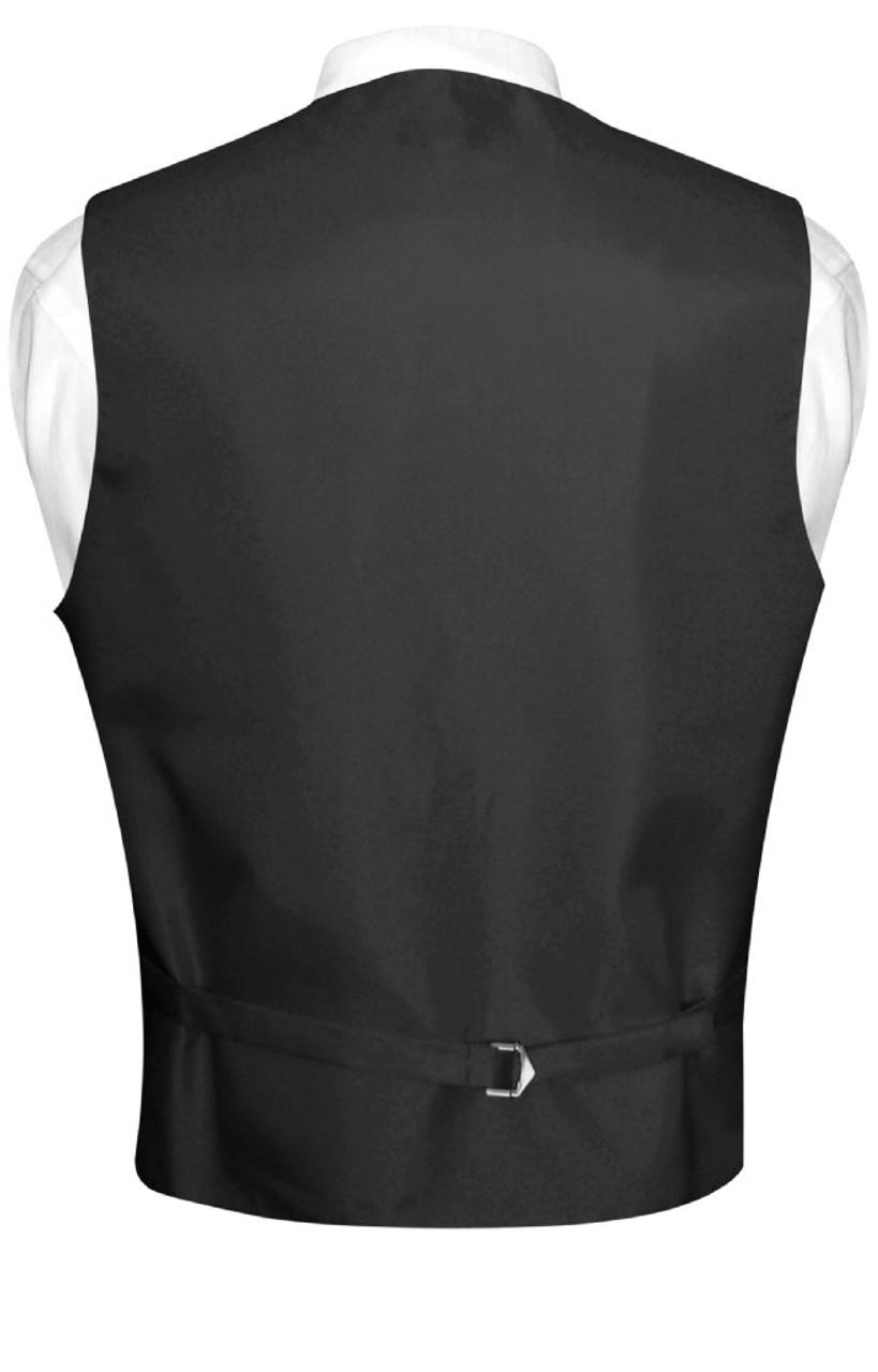 Antonio Ricci Men/'s NeckTie BLACK Paisley Design Mens Neck Tie for Tuxedo Suit