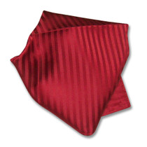 Men's Dress Vest & BOWTie RED Color Vertical Striped Design Bow Tie Set