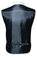 Men's Dress Vest & NeckTie Solid BURGUNDY Color Neck Tie Set for Suit or Tuxedo