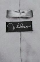 John Lennon 100% SILK NeckTie Man Woman Star Logo Mens Neck Tie