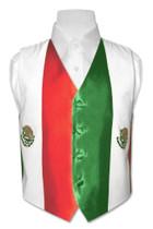 Mexican Flag Vest   Boys Mexican Flag Vest Size 6