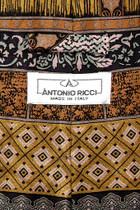 Antonio Ricci SILK NeckTie Made in ITALY Geometric Design Men's Neck Tie #3106-1