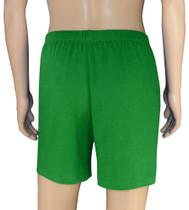 100% Knit Cotton Boxer Shorts | Biagio Emerald Green Boxers