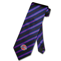 Detroit Pistons NBA Silk Neck Tie | Mens NBA Silk NeckTies