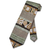 Antonio Ricci Silk NeckTie Made in Italy Design Mens Neck Tie #3107-4