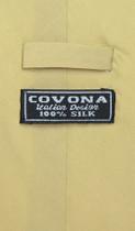 100% SILK NeckTie Solid Yellow Green Color Men's Neck Tie