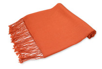 Burnt Orange Pashmina | Womens Burnt Orange Shawl Wrap Scarf