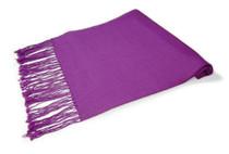 Purple Indigo Pashmina | Biagio 100% Wool Pashmina Scarf