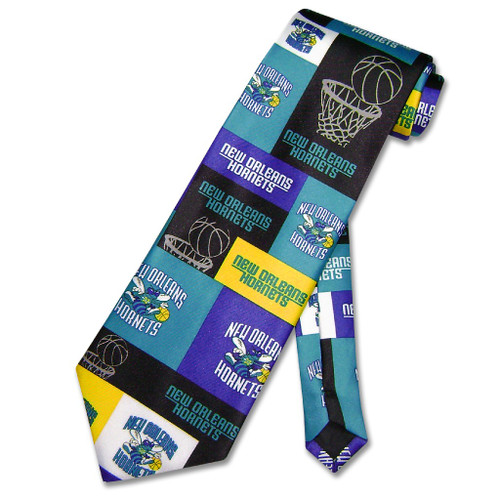 New Orleans Hornets NBA Neck Tie | Mens NBA NeckTies
