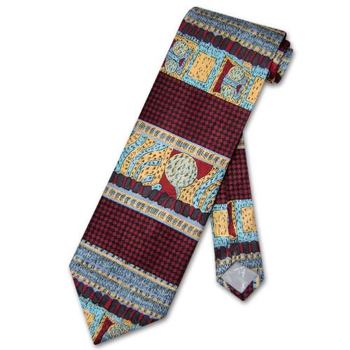 Antonio Ricci Silk NeckTie Made in Italy Design Mens Neck Tie #3107-2