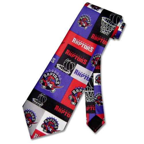 Toronto Raptos NBA Neck Tie | Mens NBA NeckTies