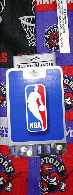 Toronto Raptos NBA Neck Tie | Mens NBA NeckTies