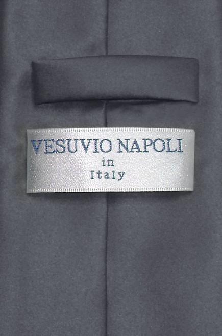 Charcoal Gray Tie | Mens Charcoal Dark Gray Necktie