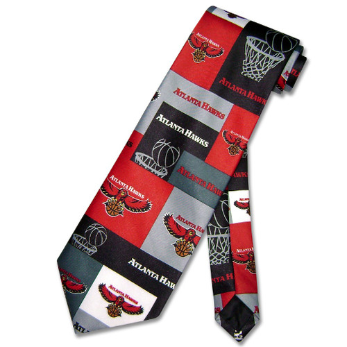 Atlanta Hawks NBA Neck Tie | Mens NBA NeckTies