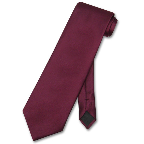 Burgundy Tie | Mens Burgundy Tie | Solid Burgundy Color