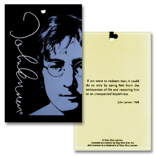John Lennon 100% Silk NeckTie Man Woman Star Logo Mens Neck Tie