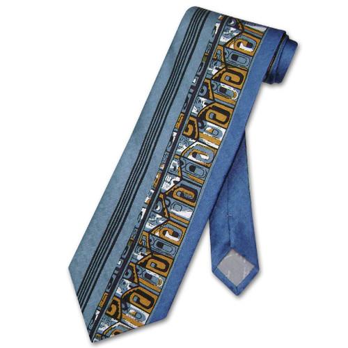 Antonio Ricci Silk NeckTie Made in Italy Design Mens Neck Tie #3101-4