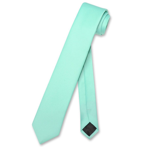 Aqua Tie Narrow | Skinny Thin Aqua Green Tie For Men