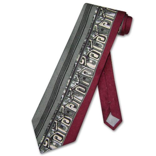 Antonio Ricci Silk NeckTie Made in Italy Design Mens Neck Tie #3101-3