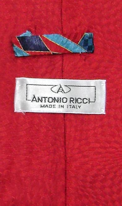 Antonio Ricci Silk NeckTie Made in Italy Design Mens Neck Tie #5118-3