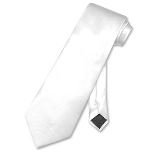 White Color Mens NeckTie   Antonio Ricci Mens Dress Neck Ties