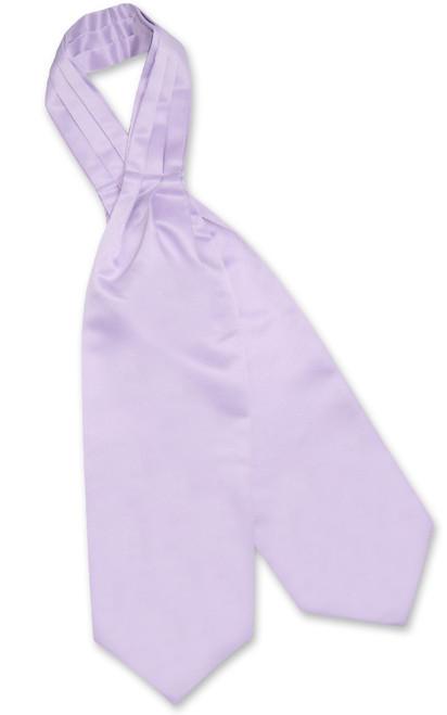Lavender Purple Cravat Tie | Vesuvio Napoli Mens Solid Color Ascot