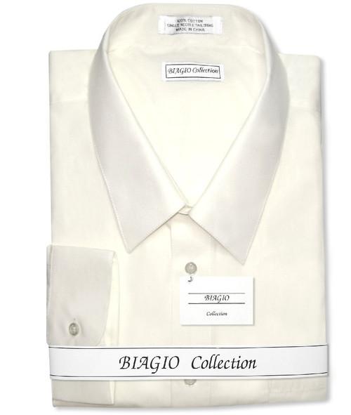 Cream Color Shirt | Cream Colored Dress Shirt | Mens Dress Shirt