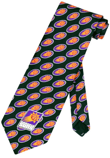 Phoenix Suns NBA Silk Neck Tie | Mens NBA Silk NeckTies