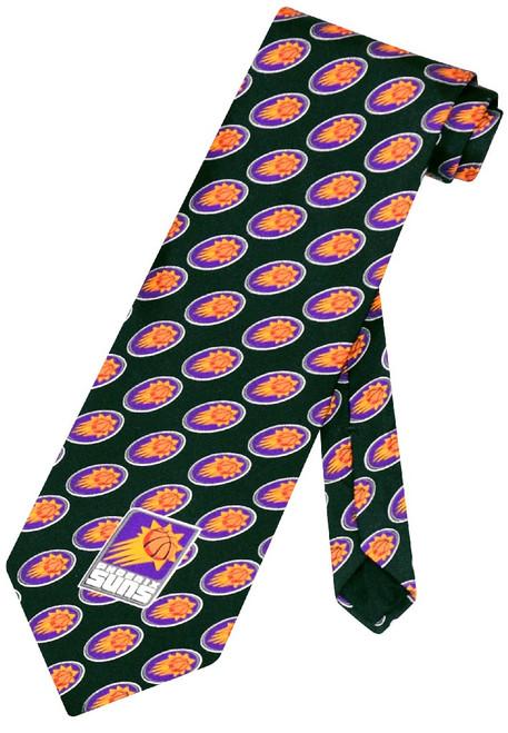 Phoenix Suns NBA Silk Neck Tie   Mens NBA Silk NeckTies
