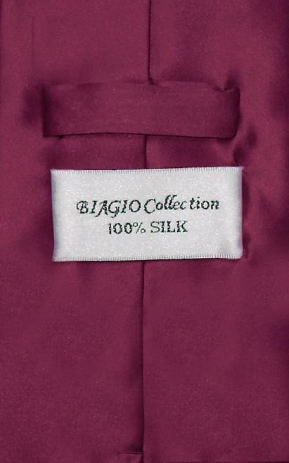 1e0b792bfae0d Eggplant Tie | Eggplant Purple Color Silk Neck Tie Handkerchief Set