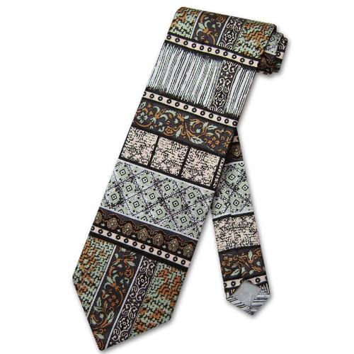 Antonio Ricci Silk NeckTie Made in Italy Design Mens Neck Tie #3106-3