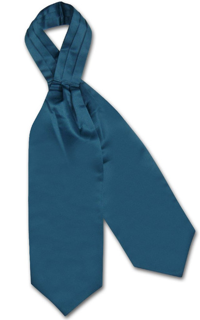 Ascot Cravat | Mens Blue Sapphire Ascot Cravat Necktie