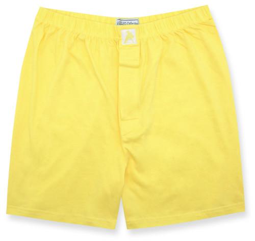 100% Knit Cotton Boxer Shorts | Biagio Light Gold Color Boxers