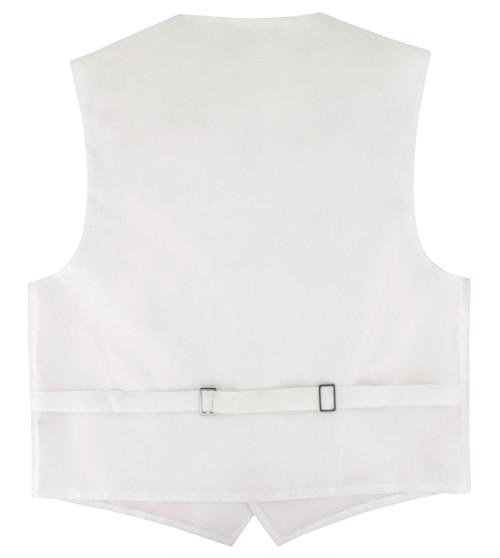 Covona Boys Dress Vest Bow Tie Solid Pink BowTie Set sz 8