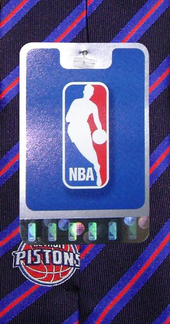 Detroit Pistons NBA Silk Neck Tie | Mens NBA Silk NeckTies