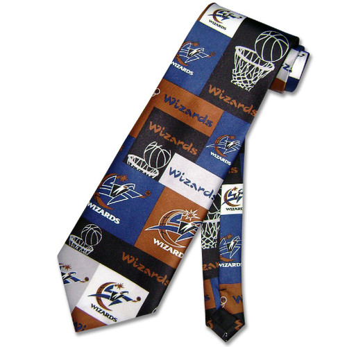 WASHINGTON WIZARDS NeckTie NBA BasketBall Mens Neck Tie
