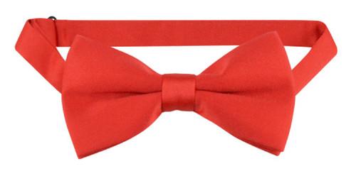 Pretied Red Bowtie   Mens Covona Pretied Red Bowtie