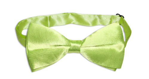 BowTie Solid Lime Green Color Mens Bow Tie Tuxedo or Suit