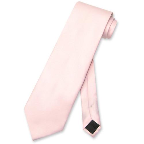 Pink Color Mens NeckTie   Vesuvio Napoli Solid Color Mens Neck Ties