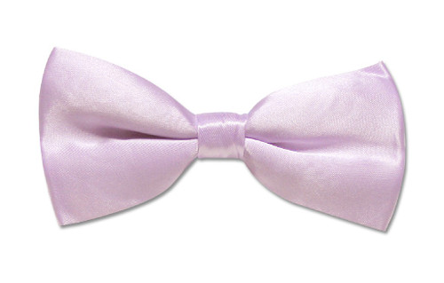 BowTie Solid Violet Lavender Color Mens Bow Tie Tuxedo or Suit
