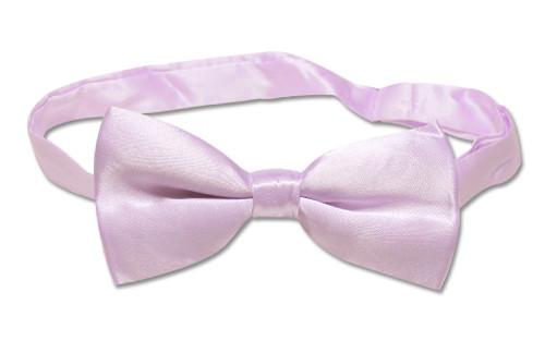 BowTie Solid Violet Lavender Color Mens Bow Tie Tuxedo or Suit