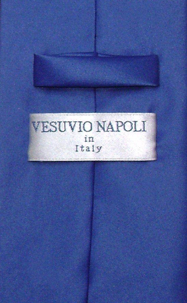 dc867b9507fd Royal Blue Mens NeckTie | Vesuvio Napoli Solid Color Mens Neck Tie