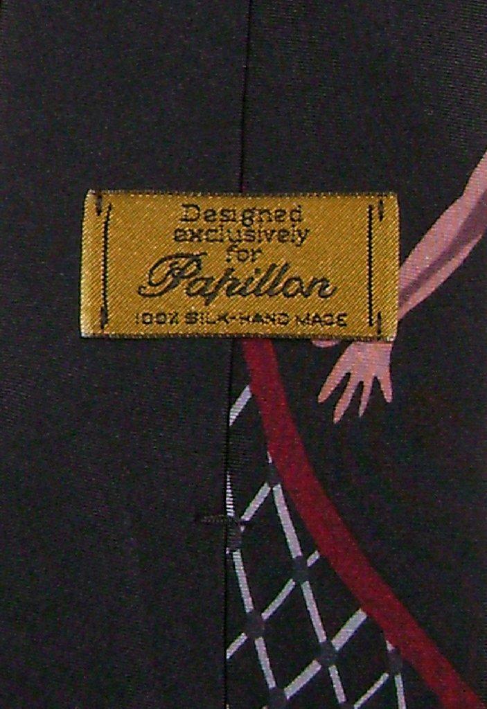 Papillon 100% Silk NeckTie Basketball Design Mens Neck Tie #101-1
