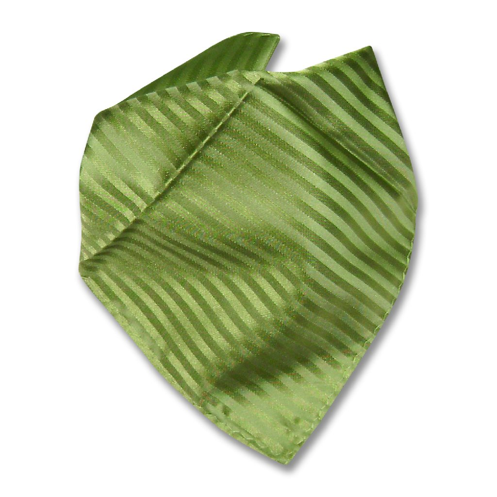 79d97d09965c Mens Dress Vest BowTie Spinach Green Color Vertical Stripe Bow Tie Set