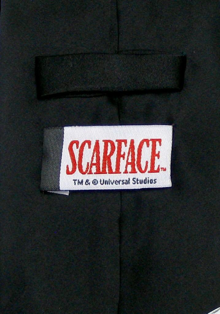 SCARFACE Silk NeckTie World Is Yours Al Pacino Mens Neck Tie